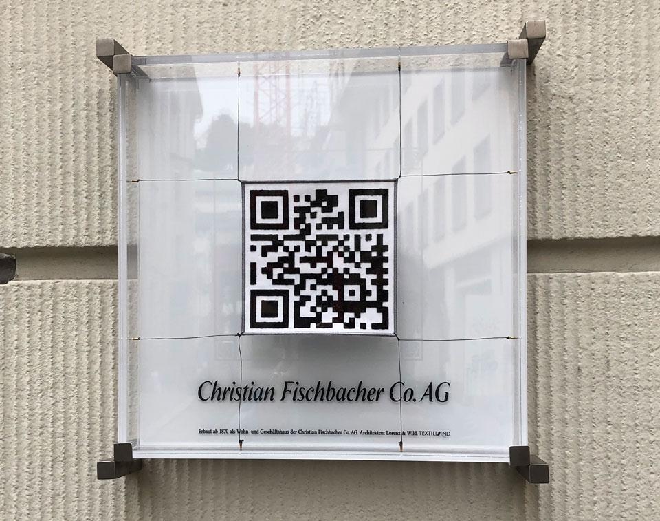Das Bild zeigt einen QR-Code