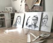 Portraits aus dem Projekt Lipstick Leaders